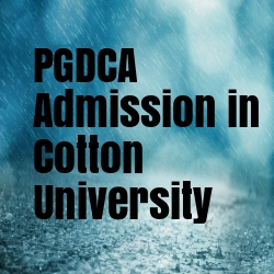 PGDCA Admission in Cotton University