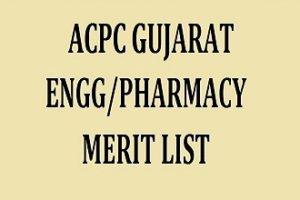 (ACPC) Admission Committee Professional Gujarat