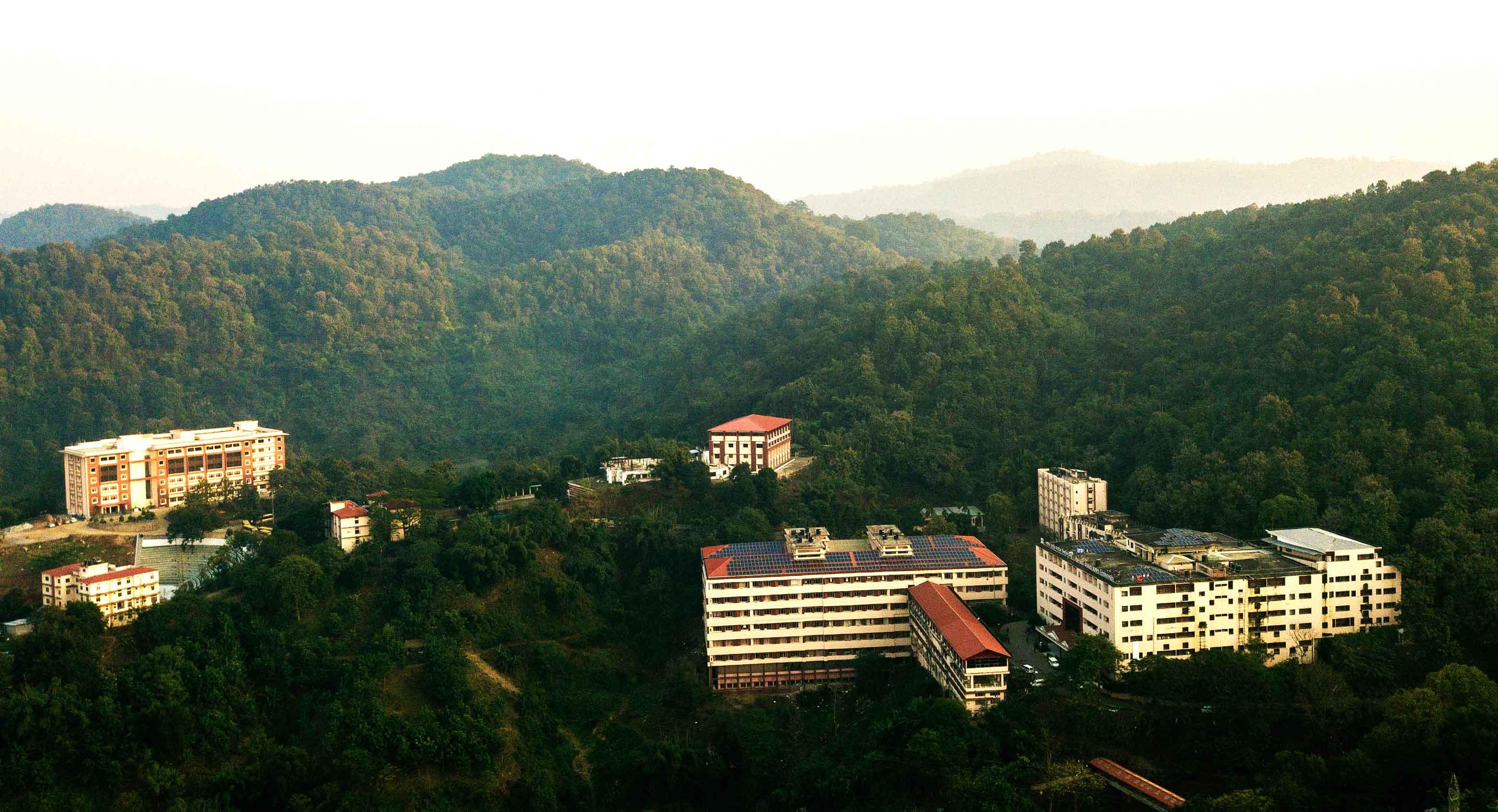 Assam_down_town_University_Aerial_View