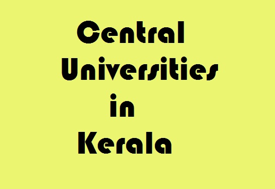 Central Universities in Kerala