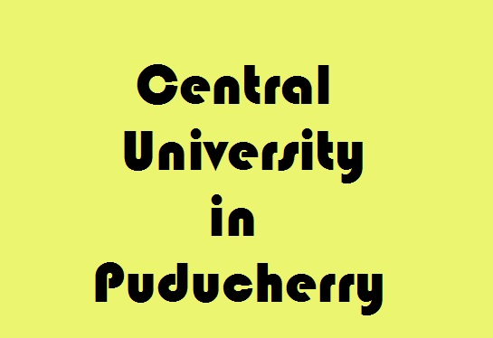 Central University in Puducherry