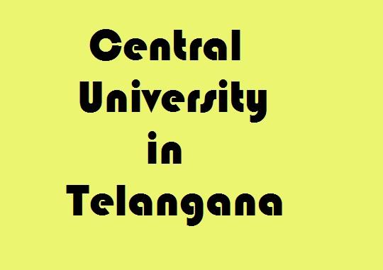 Central University in Telangana