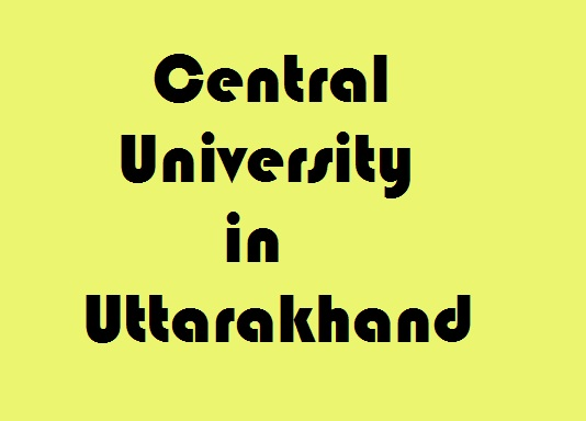 Central University in Uttarakhand