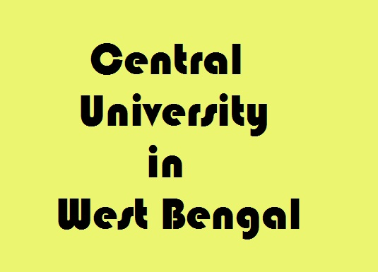 Central University in West Bengal