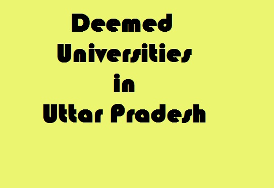 Deemed Universities in Uttar Pradesh