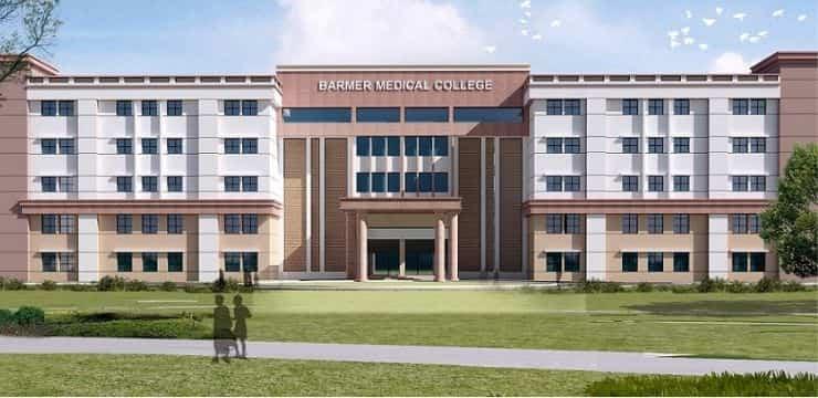 Govt. PG College Barmer, Admission