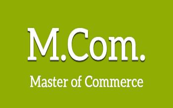 M.Com Coursein Delhi