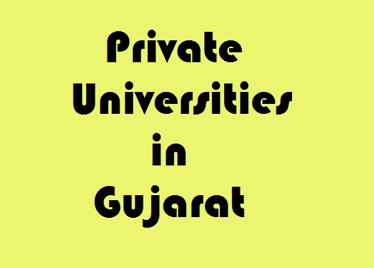 Private Universities in Gujarat