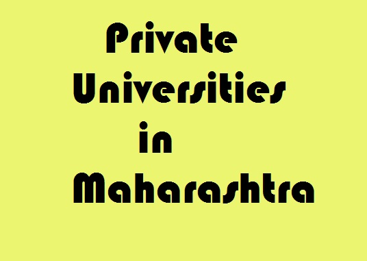 Private Universities in Maharashtra
