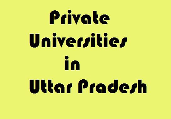 Private Universities in Uttar Pradesh