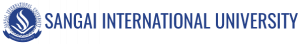 Sangai International University, Manipur logo