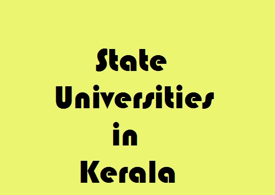 State Universities in Kerala