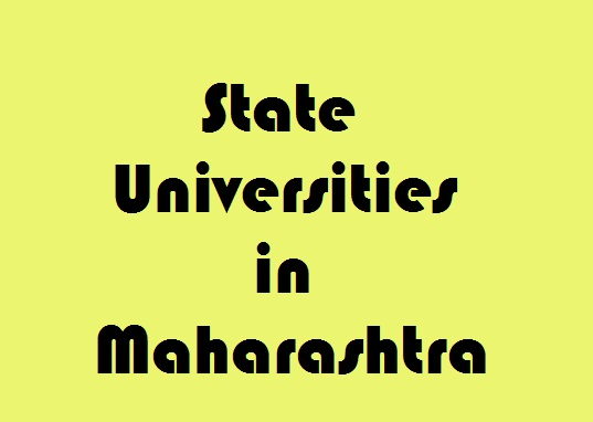 State Universities in Maharashtra