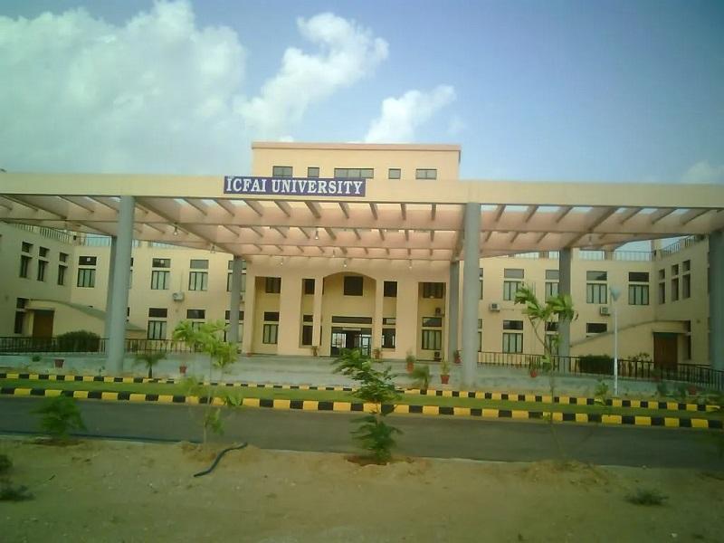 The ICFAI University admission