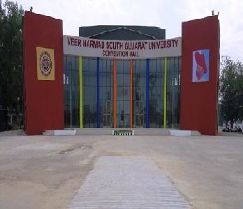 Veer Narmad South Gujarat University,Gujarat Admission 2019-20