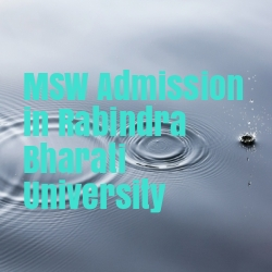 MSW Admission in Rabindra Bharati University