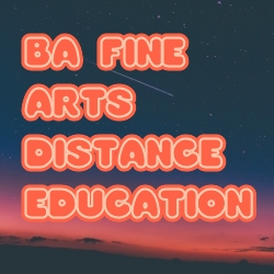 BA Fine Arts Distance Education