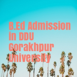 B.Ed Admission in DDU Gorakhpur University