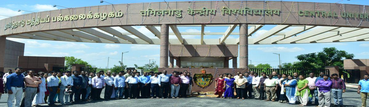 Central University of Tamil Nadu, Tamil Nadu,