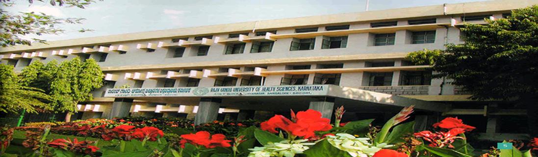 Rajiv Gandhi University of Health Science,Karnataka