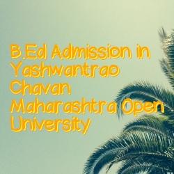 B.Ed Admission in YCMOU Maharashtra
