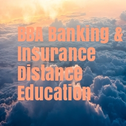 BBA Banking & Insurance Distance Education